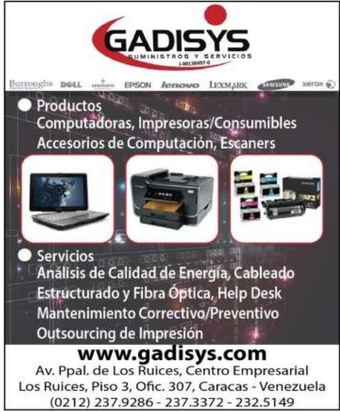 GADISYS SUMINISTROS Y SERVICIOS en Paginas Amarillas tu guia Comercial