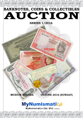 Banknotes, Coins & Collectibles Auction Series 1/2016