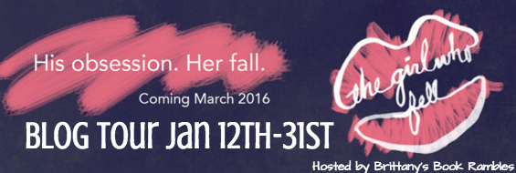 BLOG TOUR: THE GIRL WHO FELL by S M  Parker Interview +