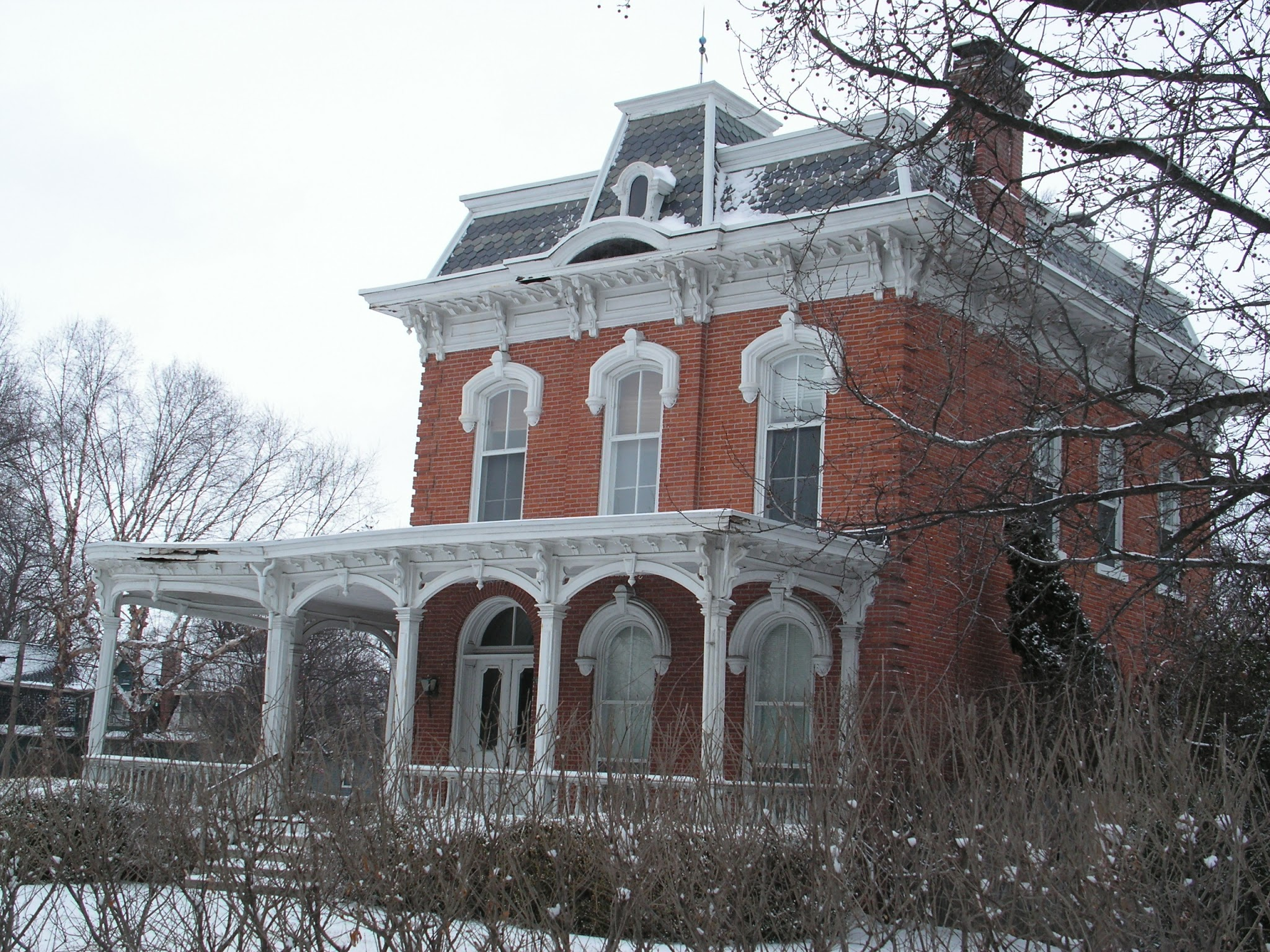 1900 victorian home restoration 1876 second empire brick house