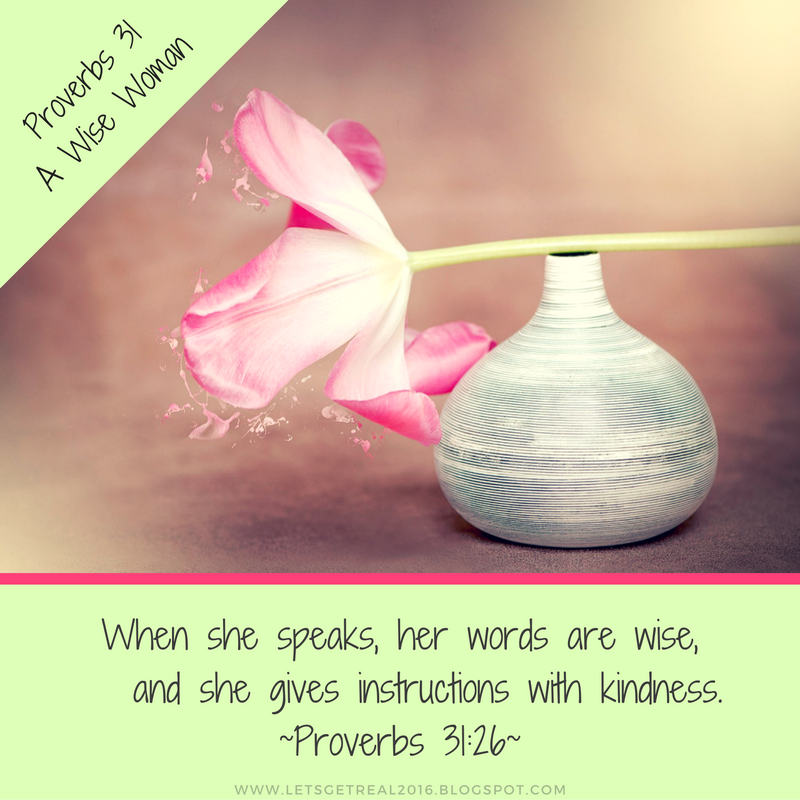 LET'S GET REAL: Proverbs 31 {Free PDF Bible Study}