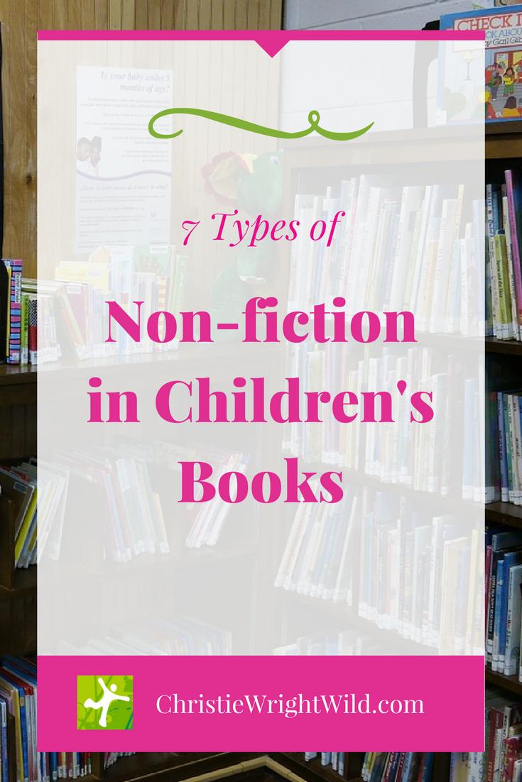 Write Wild Types Of Non Fiction In Children S Books