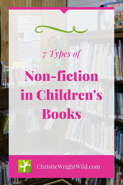 7 Types of Non-fiction in Children's Books || writing nonfiction for children | how to write non-fiction books for kids