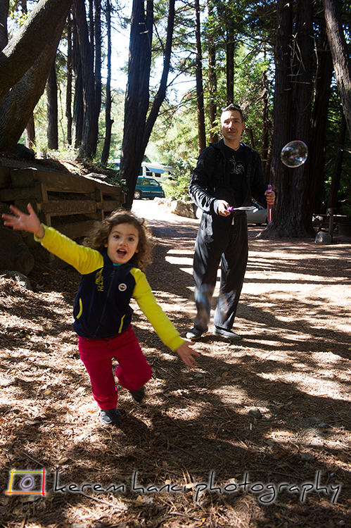 Camping with kids in Big Sur