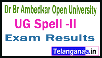 BRAOU UG 1st 2nd 3rd Year Spell-2 Results