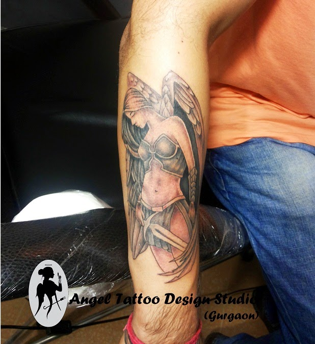 Angel Tattoo Design, Best Angel Tattoo Designs, Angel Tattoo Designs for Men