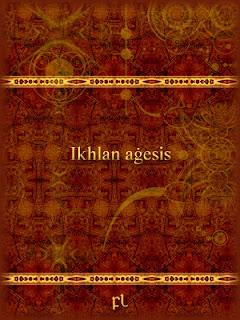 Ikhlan aġesis Cover