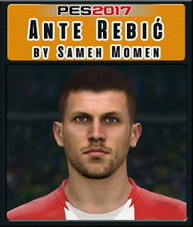 PES 2017 Faces Ante Rebic by Sameh Momen