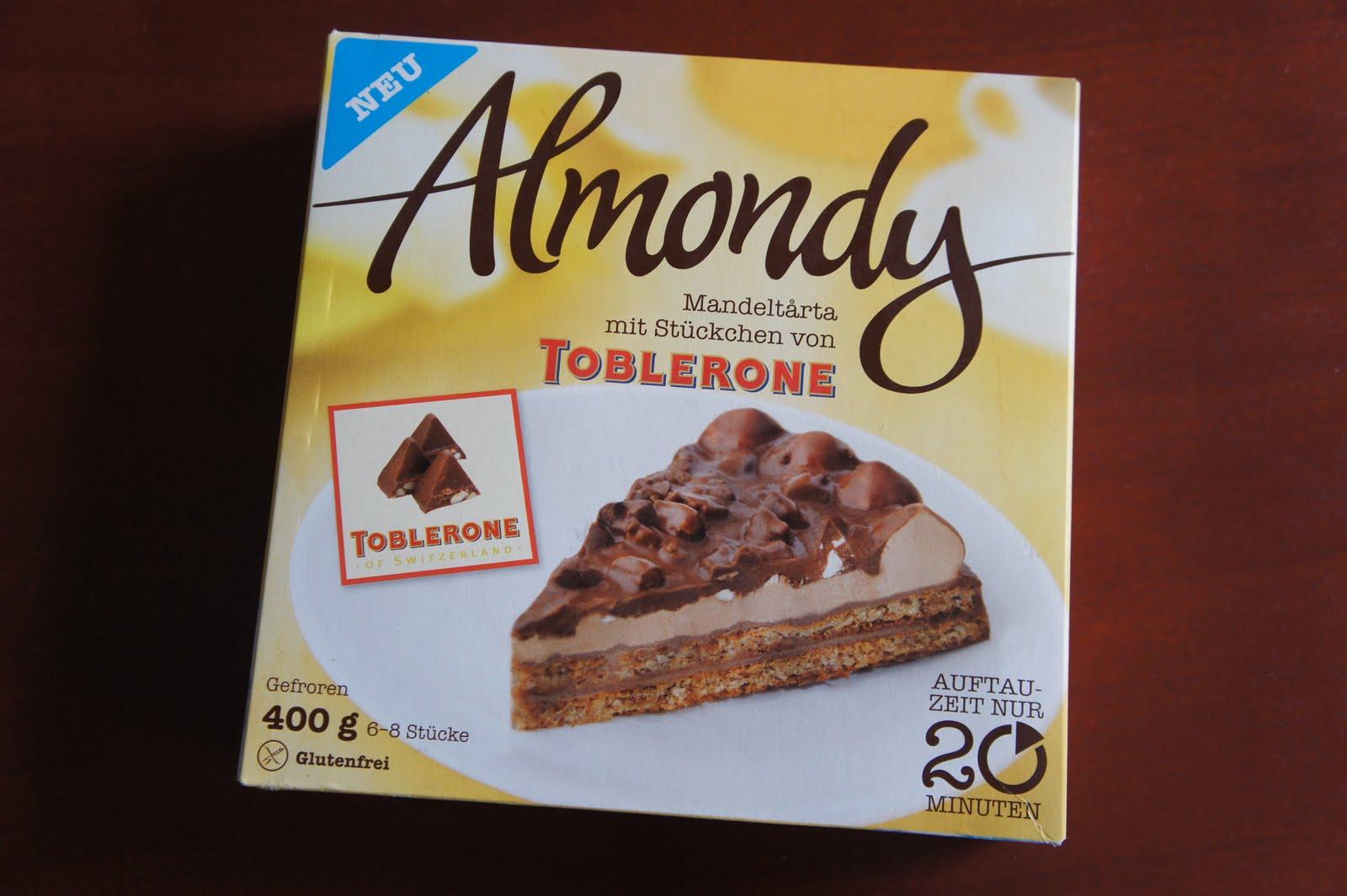 Almondy Toblerone Mandeltrta  Ein glutenfreier Blog
