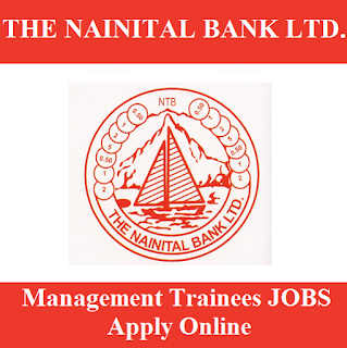 The Nainital Bank Limited, Bank, UK, Uttarakhand, Management Trainee, Graduation, freejobalert, Sarkari Naukri, Latest Jobs, nainital bank logo