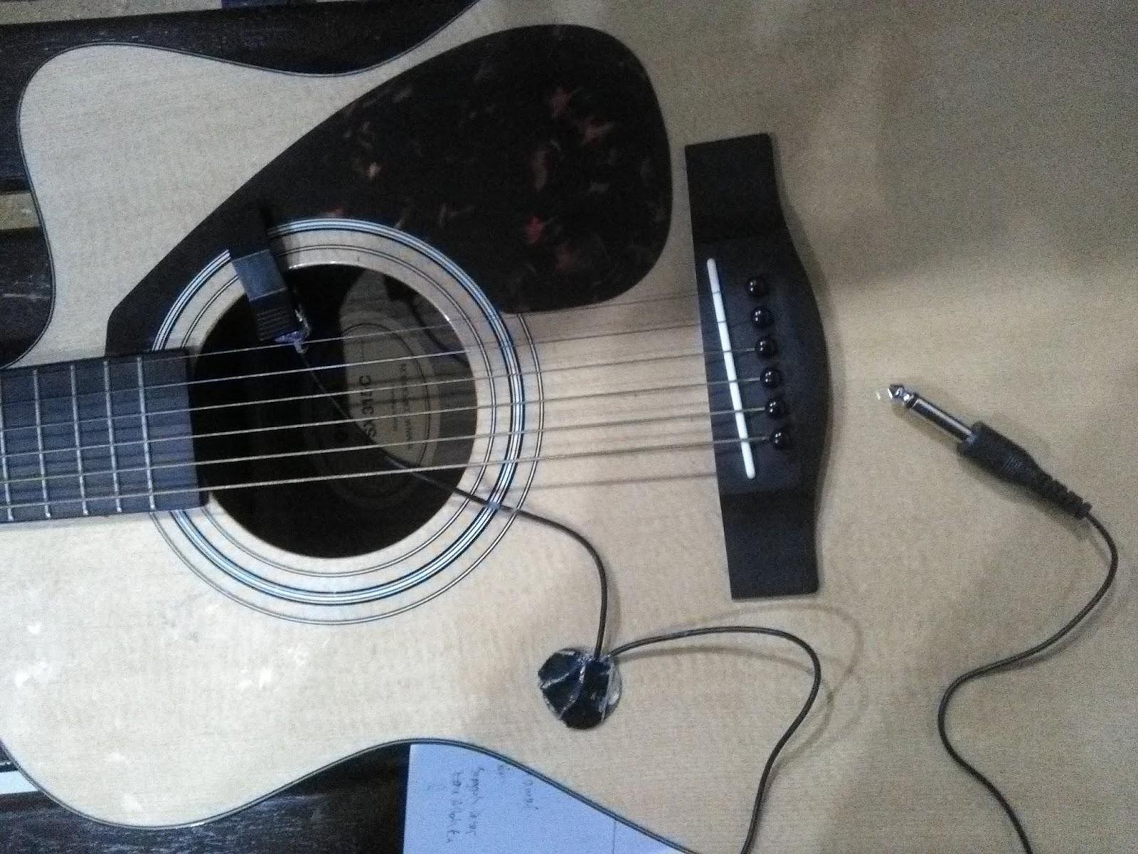 Tips Membuat Pickup Gitar Akustik Sederhana