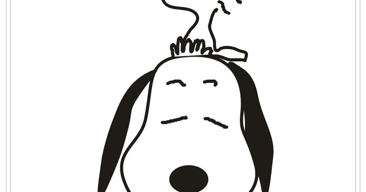 Desenho Do Snoopy Para Colorir: Desenho Snoopy E Woodstock Peanuts Para Colorir