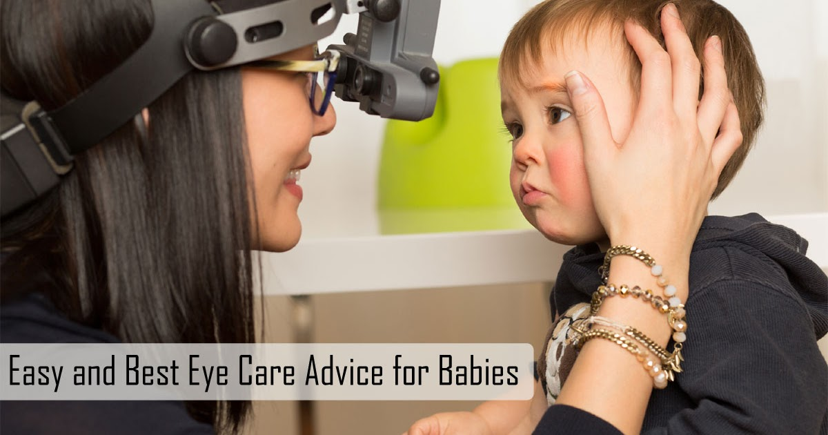 Take Care of the Baby's Eyes