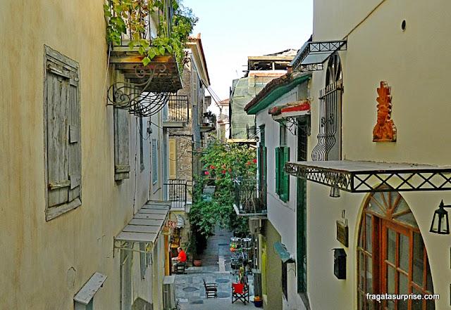 Rua do Centro Histórico de Nafplio