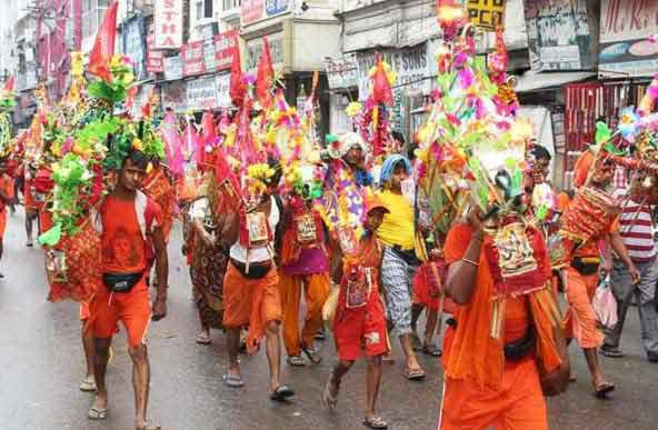 Shravan Month Kanwar Yatra in 2019 - Importance of Kavad