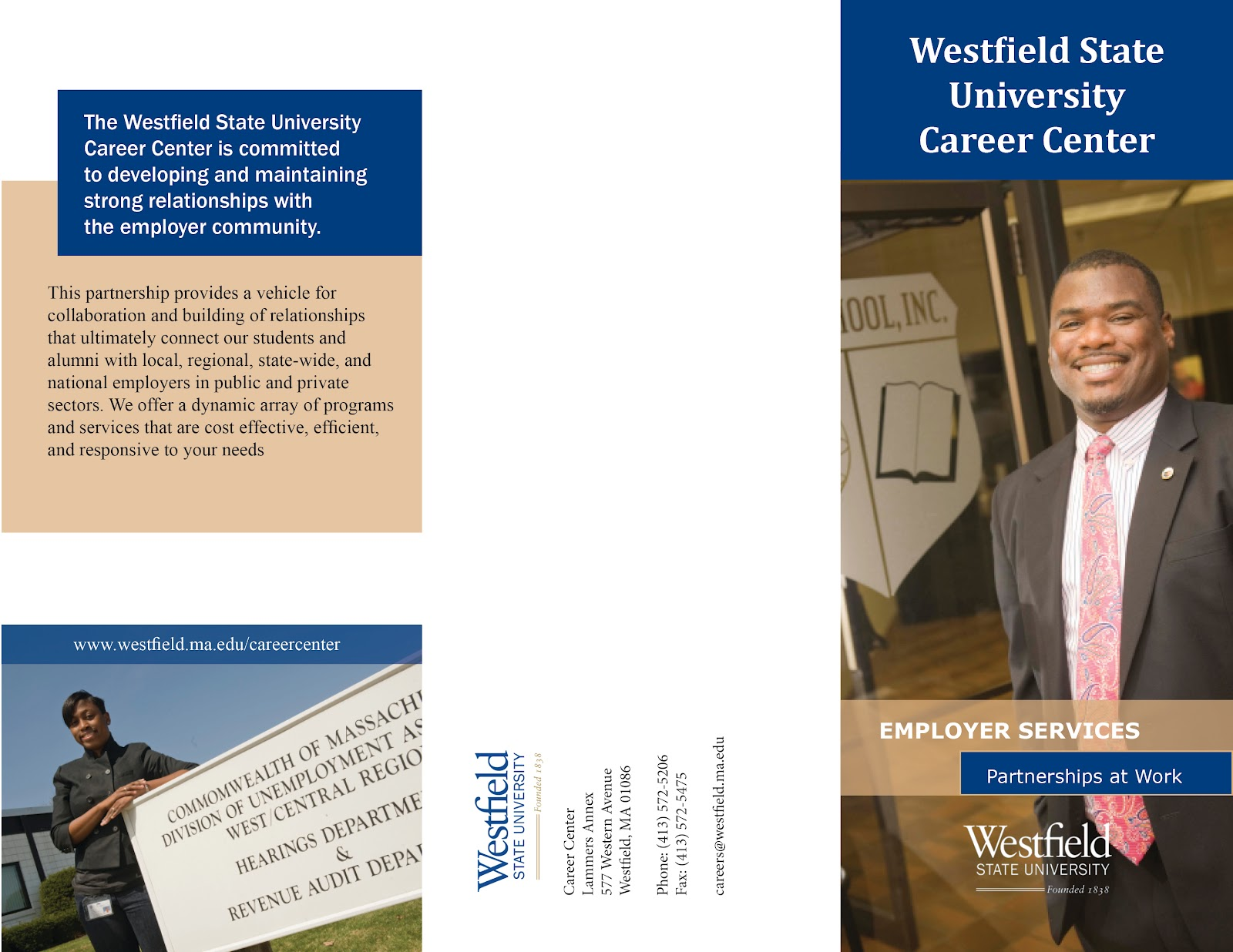 Alycia Designs Wsu Career Center Brochure