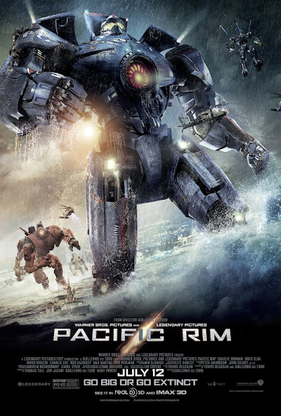 Poster Of Pacific Rim 2013 720p Hindi BRRip Dual Audio Full Movie Download