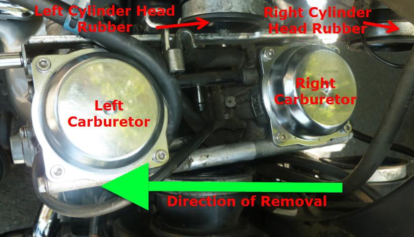 Removing Carburetors And Replacing Pilot Jet On 2007 Bonnie