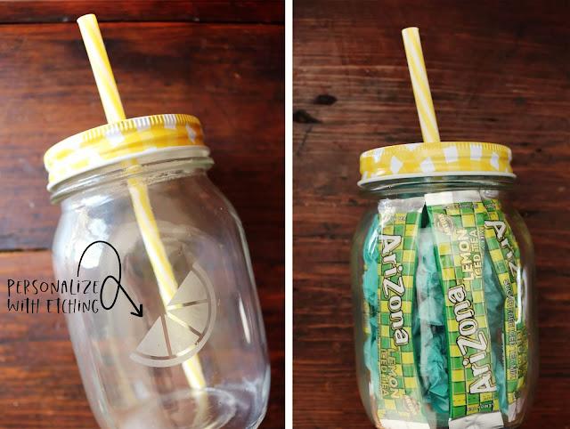 Etched Lemonade Tumbler