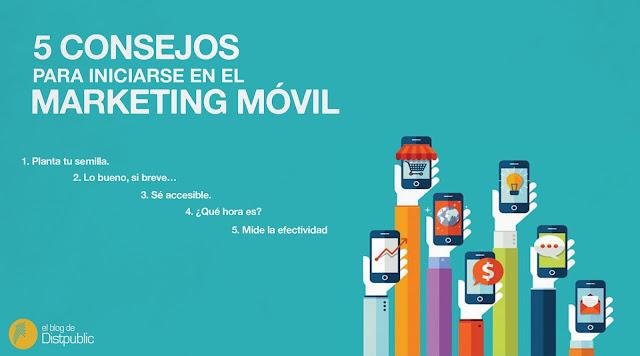 5 consejos para iniciarse en el marketing móvil