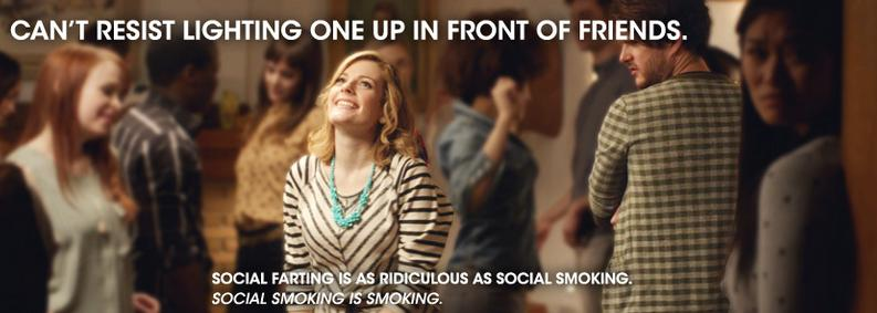 Farting Is To Social What Social Is To Smoking - Fun New Anti Smoking PSA