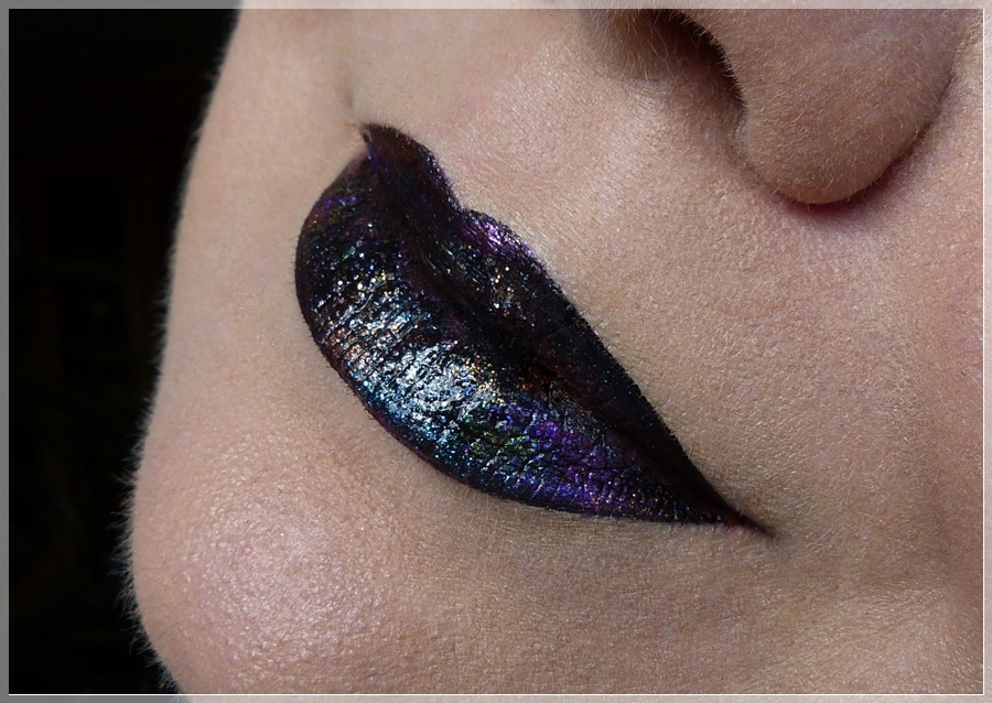 glitzerndes lip art Galaxie
