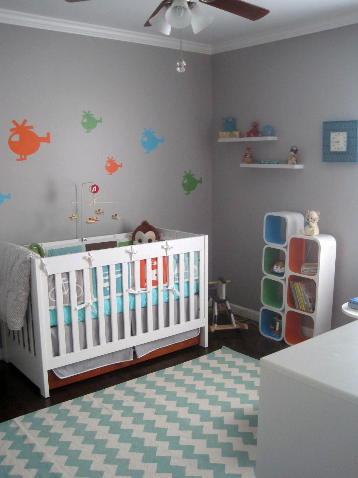 Modern Baby Boy Room: Rhan Vintage. Mid Century Modern Blog.: Our Vintage Modern