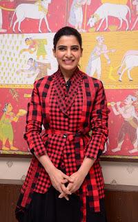 Actress Samantha Akkineni New Stills