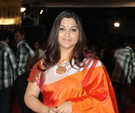 Actress Khushboo condemns on Beef Ban Issue