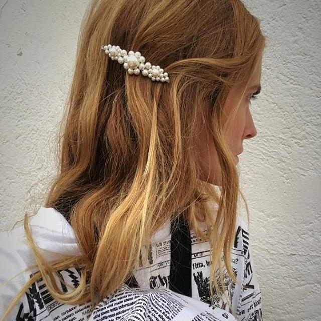 pasadores perlas horquillas blanca miro
