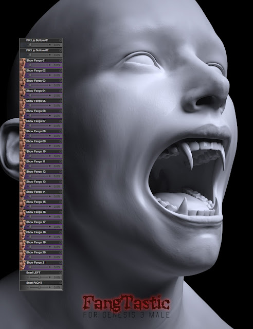 FangTastic for Genesis 3 Male