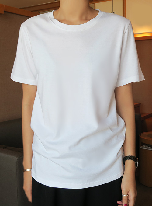 Relaxed Fit Basic T-Shirt