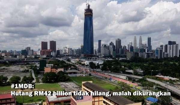 #1MDB: Hutang RM42 billion tidak hilang, malah dikurangkan [Video]