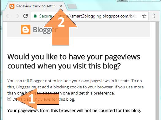 Blogger Me Khud Ke Page View Count Ko Kaise Disable Kare ?