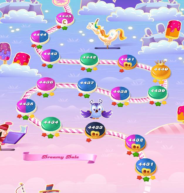 Candy Crush Saga level 4431-4445