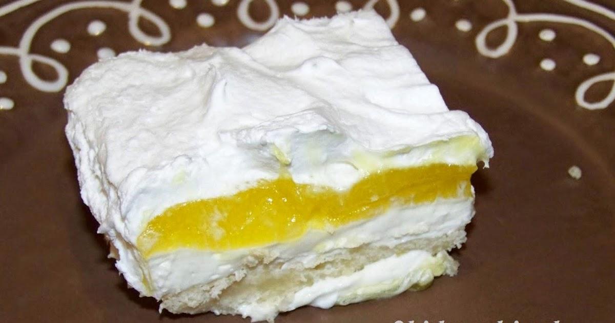 Whipped Lemon Topping For Cake