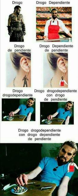 Drogo, drogo de pendiente, dependiente