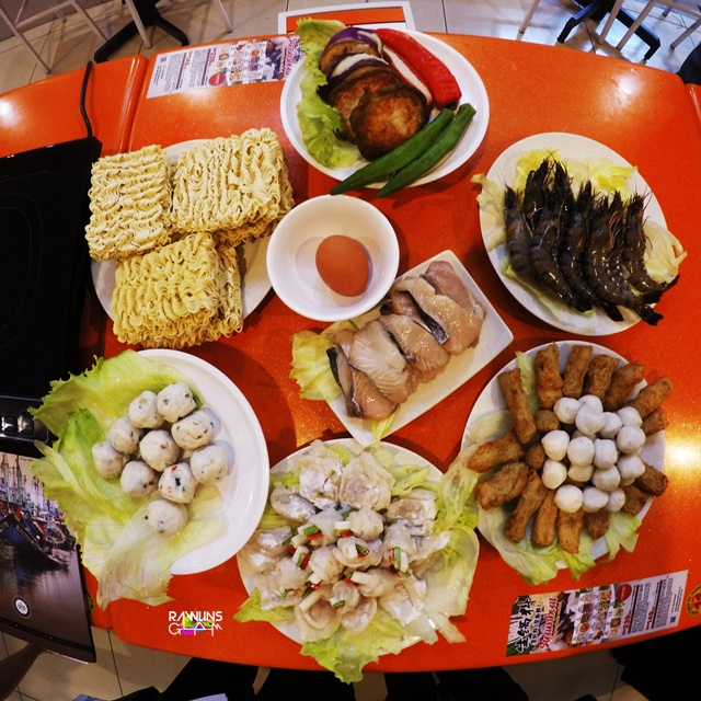 AK Noodles House, best fishball in town, steamboat, Special Steamboat Package, takeaway, eat healthy, eat clean, byrawlins, food review, Ah Koong Restaurant, fish,