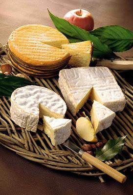 selezione formaggi della Normandia