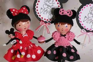 Gambar Boneka Minnie Mouse Lucu dan Imut 3