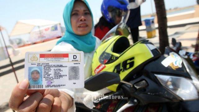 'Saya punya SIM tapi ketinggalan', apakah kena tilang?