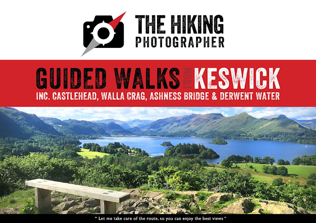 Guided organised walks keswick lake district bets views