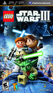 Lego Star Wars III The Clone Wars PSP GAME ISO
