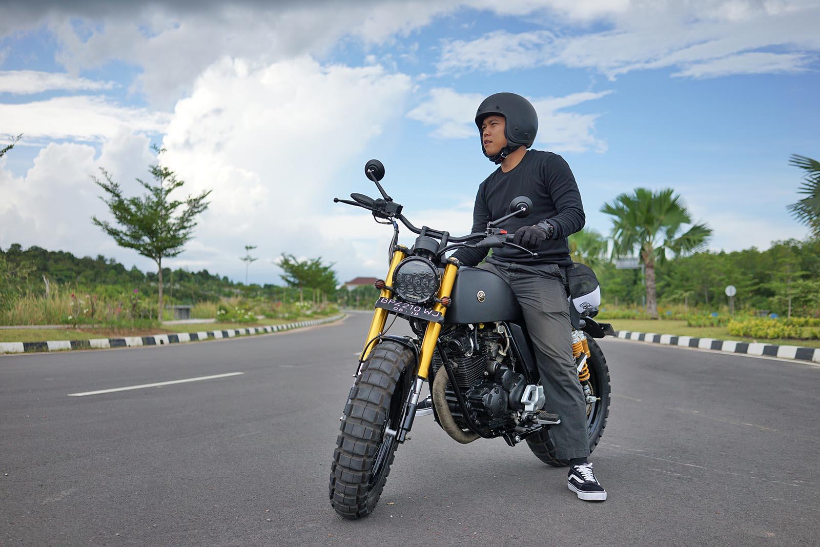 Modifikasi Yamaha Scorpio Tracker
