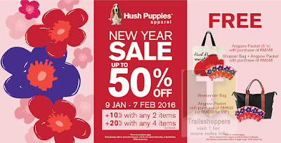 Hush Puppies Apparel New Year Sale