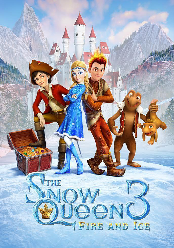 The Snow Queen 3: Fire and Ice [2017] [DVDR] [NTSC] [CUSTOM BD] [Latino]
