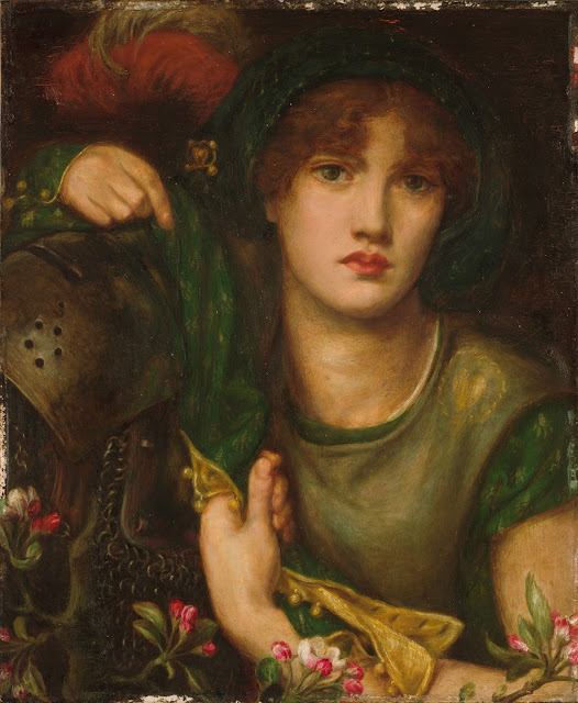 Dante Gabriel Rossetti - My Lady Greensleeves - 1864