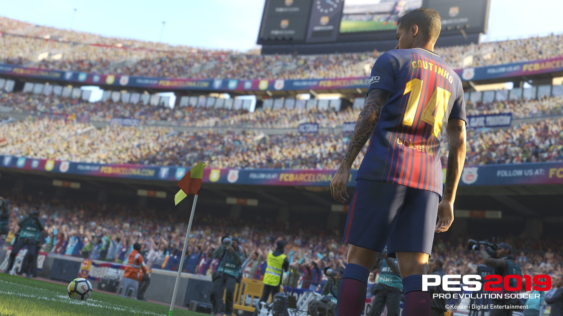 Pro Evolution Soccer (PES) 2019 Wallpapers