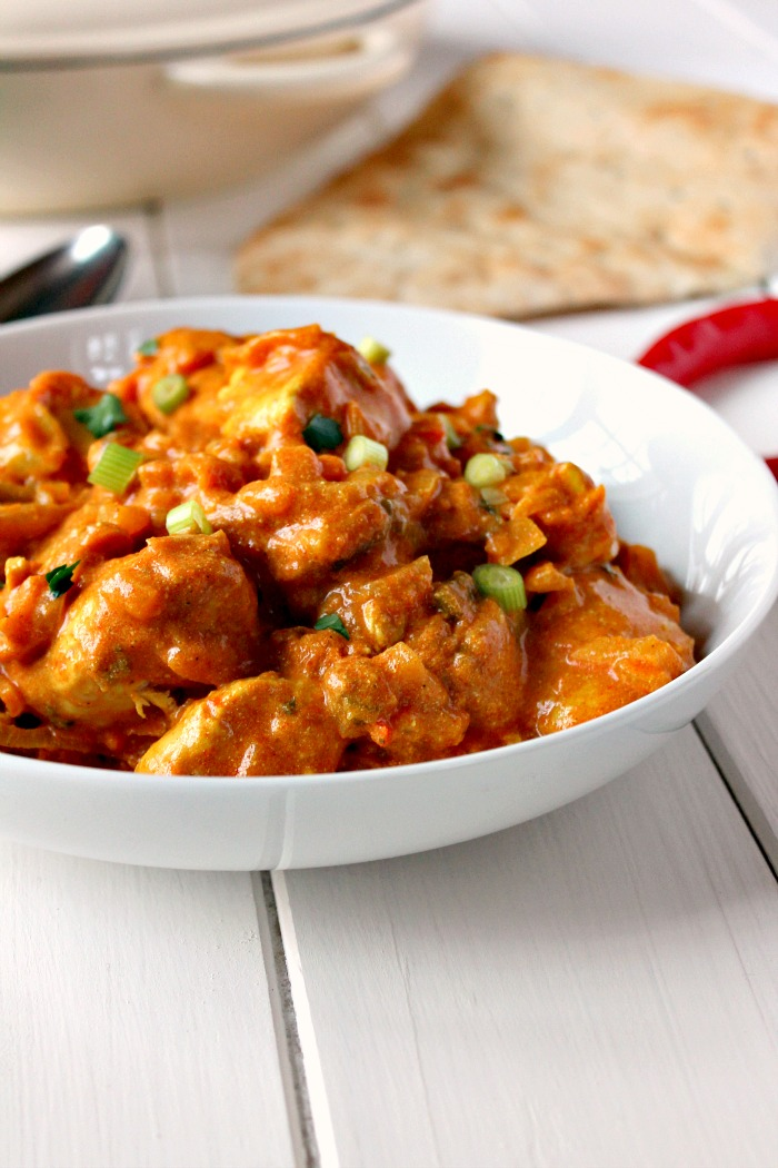 Nice and Spicy Chicken Curry