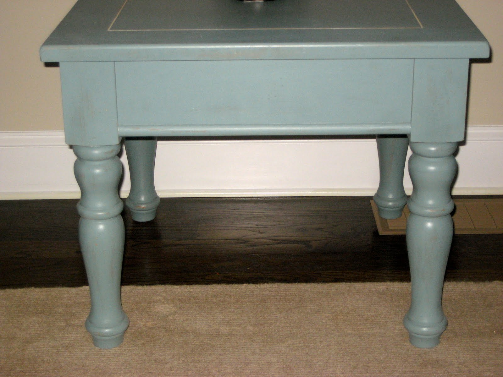 Beach Style Cottage End Table